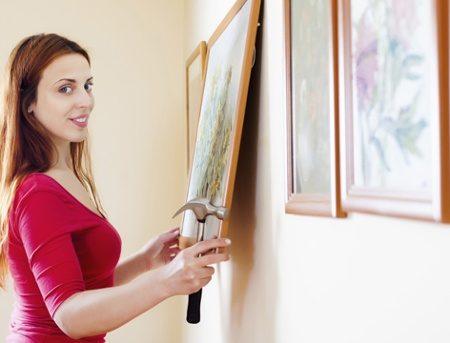 La meilleurs façon d'accrocher vos cadre au mur